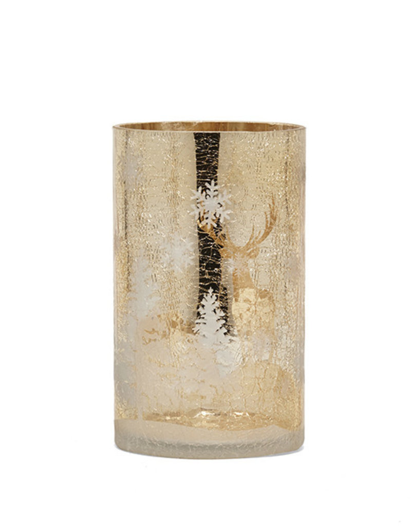 Harman Champagne Winter Candle Holder- Medium