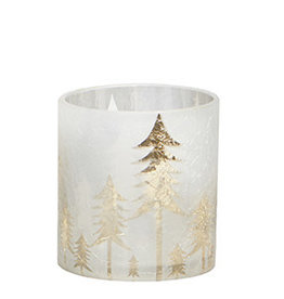 Harman Frosted Forest Candle Holder - Small