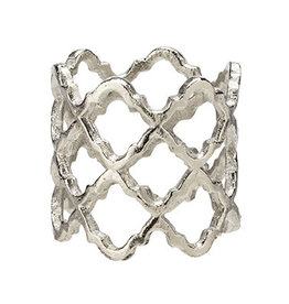 Harman Lattice Napkin Ring Silver