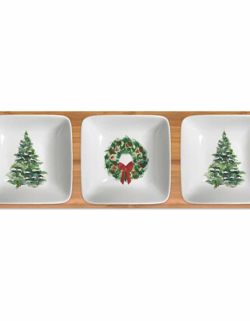 Paper Products Design Dipping Dish Set