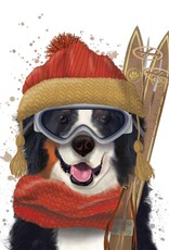 Paper Products Design Skiing Noah