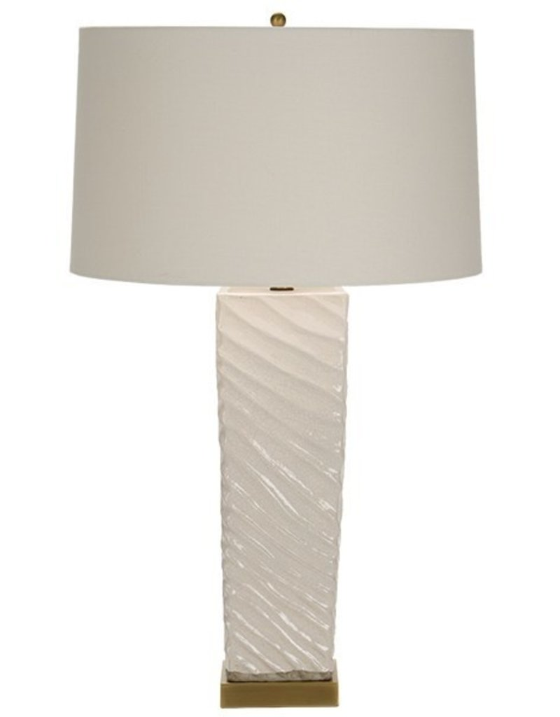 The Natural Light Shoal Beige Table Lamp