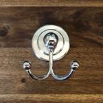 Whittington Gaudy Collection Robe Hook Chrome