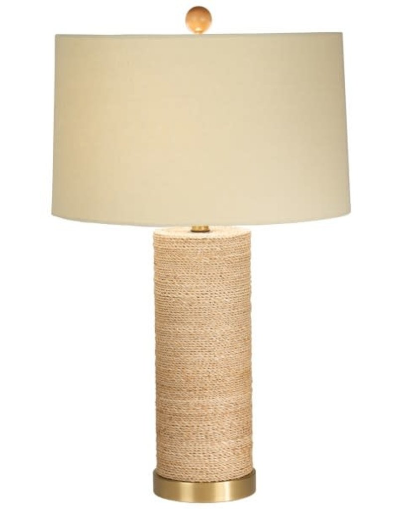 The Natural Light Tied-Up Table Lamp