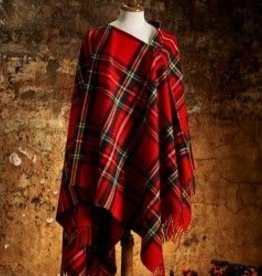 British & Irish Imports Lambswool Tartan Cape Royal Stewart