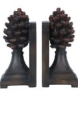 Crestview Pine Bluff Bookends, Set of 2