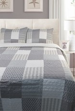 New New Horizons Monon Quilt Set - Queen