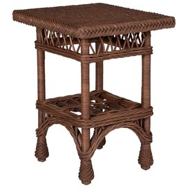Designer Wicker Harbor Front End Table