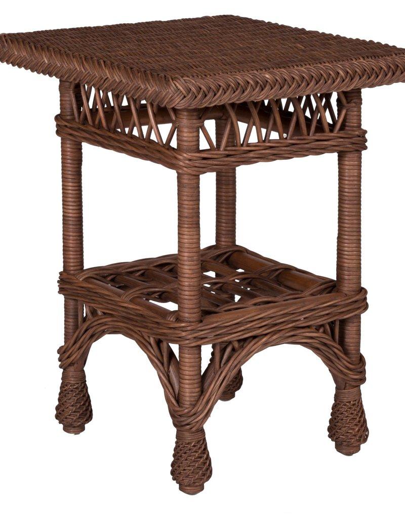 Designer Wicker Harbor Front End Table