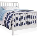 Braxton Culler Lind Island Cottage White Bed