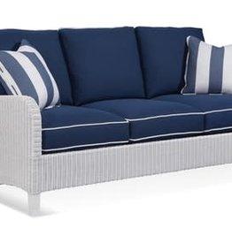 Braxton Culler Gibraltar Wicker Sofa - Navy