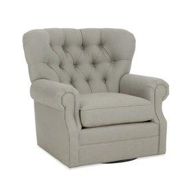 CR Laine Cooper Swivel Chair - Fomo Chestnut