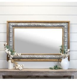 VIP Home & Garden Wood Mirror - 47""