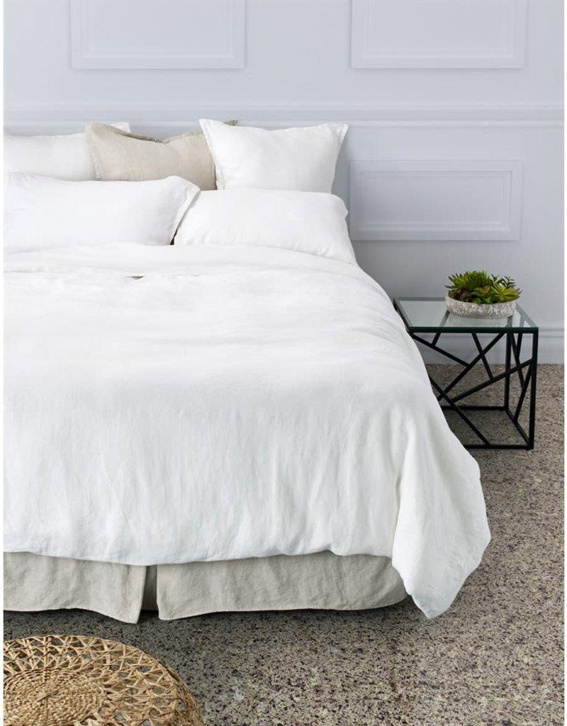 Brunelli Linen, White Duvet Cover, King