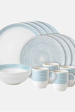Royal Doulton Polar Blue Dot Dish Set