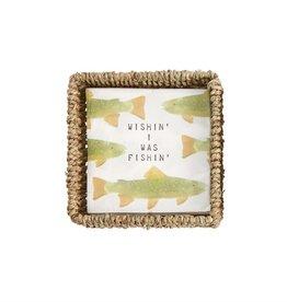 Mudpie Fish Serviette Basket