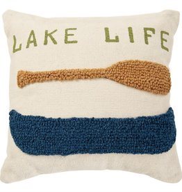 Mudpie Toss Pillow - Lake Life