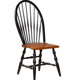 Eddy West Windsor Side Chair - Black