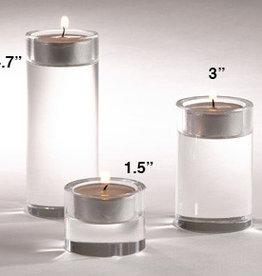 Saro Trading Company Crystal Candle Holder - Medium