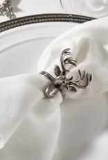 Saro Trading Company Reindeer Design Napkin Ring