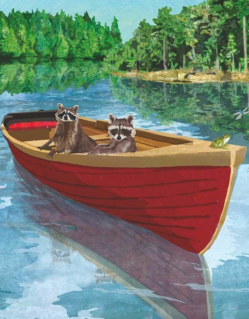 PPD Lakeside Raccoons Serviettes