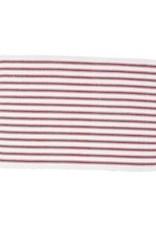 C&F Enterprises Ticking Stripe Crimson Placemat