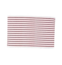 C&F Enterprises Ticking Stripe Crimson Placemat