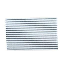 C&F Enterprises Ticking Stripe Navy Placemat