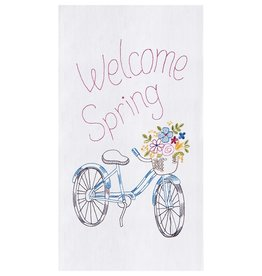 C&F Enterprises Welcome Spring Towel