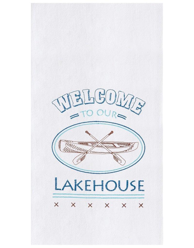 C&F Enterprises Lake House Kitchen Towel