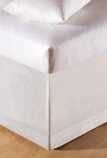 C&F Enterprises White Tailored Queen Bed Skirt