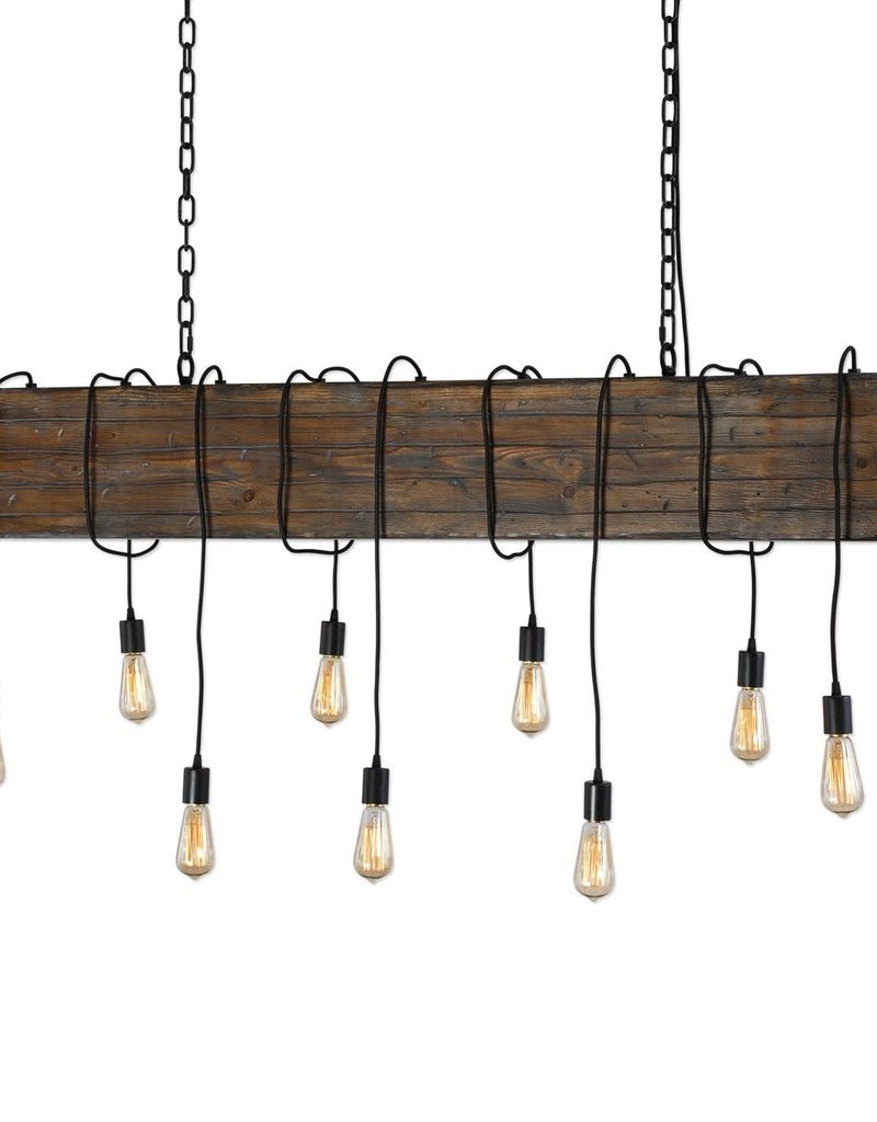 Uttermost Reading Station 9-Light Chandelier