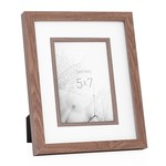 Torre & Tagus Beckett Walnut Veneer Frame, 5x7