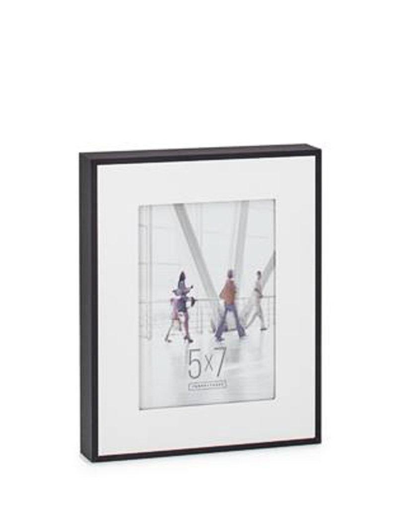 Torre & Tagus Boulevard Black Veneer Frame, 5x7