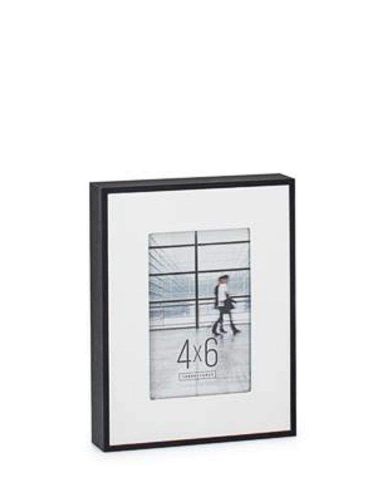 Torre & Tagus Boulevard Black Veneer Frame, 4x6
