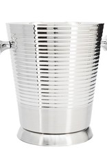 Torre & Tagus Axis Ribbed Champagne Bucket