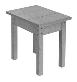 C.R. Plastic Products Small Table - Light Grey