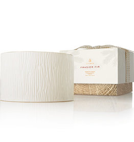 Thymes Frasier Fir Collection - Ceramic 3 Wick Candle