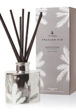 Thymes Frasier Fir Collection - Silver Pine Petite Reed Diffuser