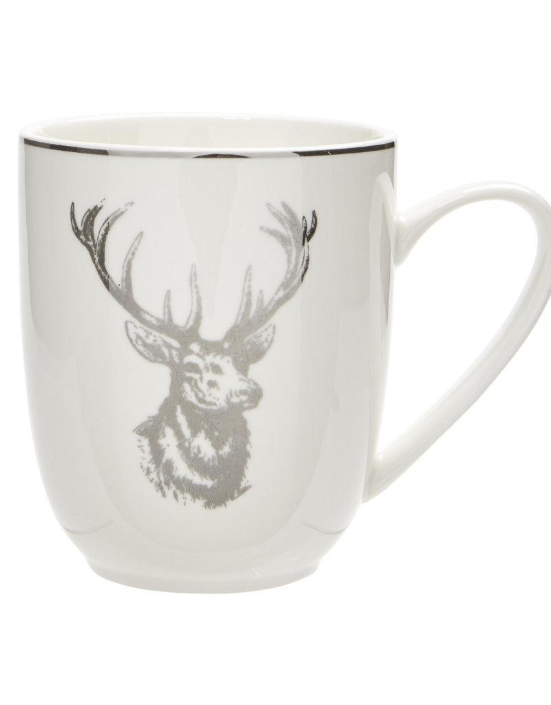 Harman Silver Reindeer Mug