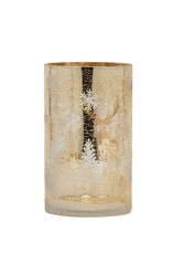 Harman Champagne Winter Candle Holder - Small