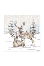 Harman Reindeer Tree Lunch Serviette