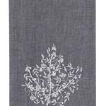 Park Design Leaf Filigree Embroidered Napkin