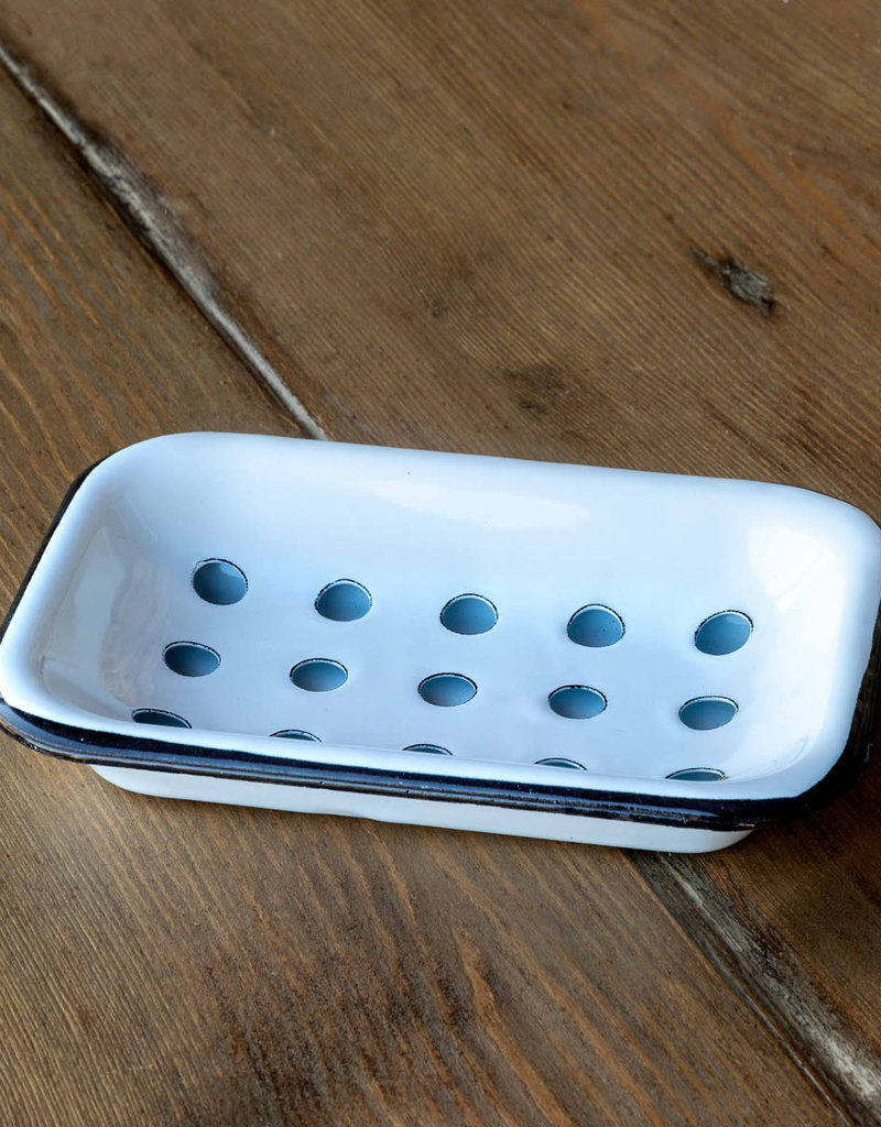 Park Hill Farmhouse Enamelware - Soap Dish