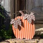 Painted Tin Pumpkin