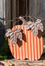 Park Design Painted Tin Pumpkin