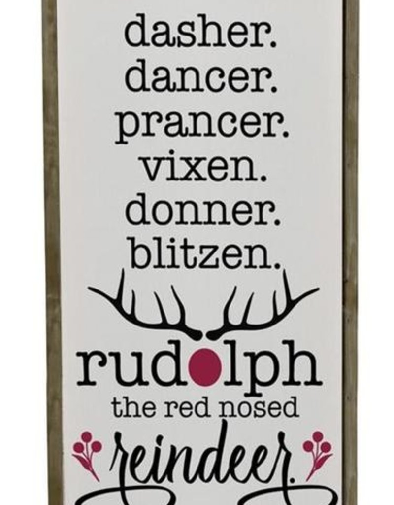 Tri W Imports Reindeer Wall Plaque (Tri)