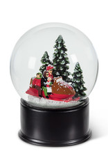 Abbott Snow Globe - Family Snowmobile