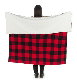 Abbott Buffalo Check Fleece Throw