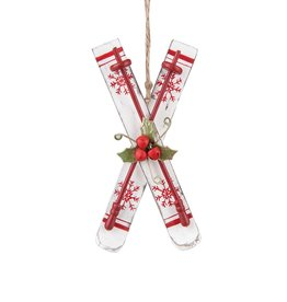 C&F Enterprises Nordic Ski Ornament
